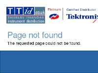 Tektronix Web Shop - TTid | Tektronix products available in the UK from TTid.co.uk