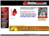 boxinggurus.com Boxing Gurus, Fighters, Newsdesk
