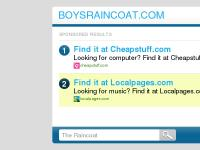 The Raincoat - Online Search Resource