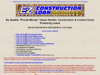 E-Z No Qualify Private Money Construction Loans