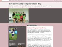 Boulder Running Company/adidas Athlete Blog