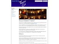 Bristol Old Vic Theatre Club