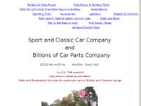 Rolls-Royce Parts and Bentley Parts since 1976 by Scotty MacClymonds