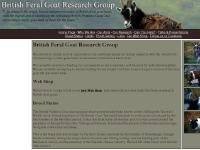 British Feral Goat Research Group - Welcome