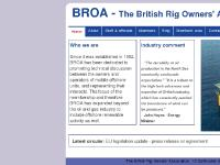 BROA :: The British Rig Owners Association