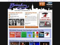Broadway Comedy Club in New York City's Times Square