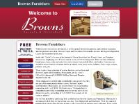 brownscarpets.co.uk Browns Furnishers