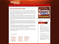 Brown Tickets - Cleveland Browns Tickets
