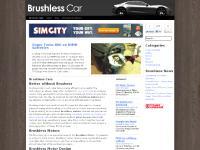 Brushless Car | Brushless Motor: Creating a Green Future.