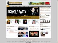 bryanadams.org Bryan Adams, Bryan, Adams