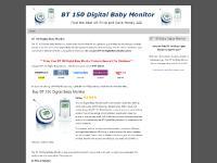BT 150 Digital Baby Monitor - Buy, Review, Best Price