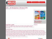 bug.co.uk BUG, backpackers, budget