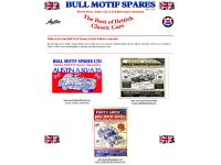 Bull Motif Spares Ltd - Morris Minor Spares :: Morris Minor Parts :: Austin a30 a35 Spares :: Austin a30 a35 Parts :: Worldwide Shipping