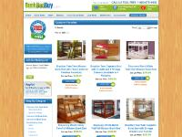 Free Shipping Bunk Beds For Kids | Cheap Twin Over Futon Bed Furniture