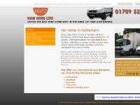 Van Hire Home - Rotherham | Buzz Van Hire Ltd