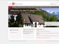 bve.li English, Mitglied von EFG International, Lösungen