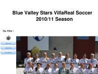 Blue Valley Stars VillaReal Girls Soccer