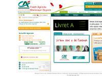 Crédit Agricole Martinique-Guyane - Accueil - Particuliers - Crédit Agricole