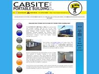 Cheap and Used Cabins for Sale | Second Hand Portable Offices | Cabsite Buildings