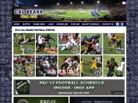 Cal Bears Football at Cal Bears Online