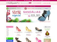 Loja virtual de sapatos femininos on line - Calçados Mariquinha.