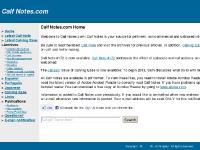 Calf Notes.com