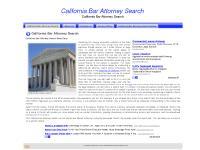 californiabarattorneysearch.com California Bar Attorney Search