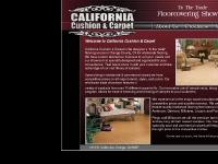 California Cushion & Carpet - To the trade flooring center
