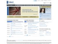 Calvert Investments - Homepage