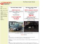 can-auto.ca Buy - For Sale Listings, Sell - Consign your Vehicle, Appraise - Vehicle Values