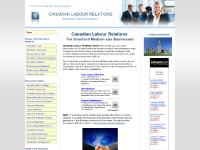 canadianlabourrelations.com canadian labour relations, canadian lab