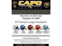 capofootball.com Capo Football, Capo Valley Football, Capistrano Valley Football