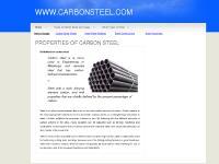 Properties of Carbon steel - Carbon steel