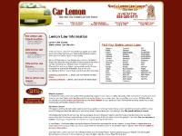 Lemon Law Statutes, Brochures, and Fact Sheets