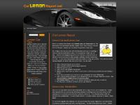 Lemon Law, Lemon Cars - Car Lemon Report