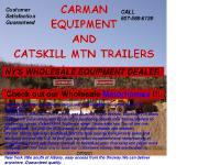 Carman Equipment & Catskill Mtn Trailers, 2005 WINNEBAGO JOUNEY, 2008 MONACO DYNASTY, Wholesale Motorhomes