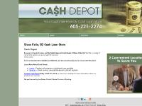 Cash Loan Store Sioux Falls, SD - Cash Depot