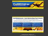 Faxless Cash Advance - No Fax Payday Loans @ CashWithdraw.com