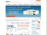 caspio.com online database, online database software, web database
