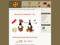 Casse-tête bois Jeux bois Casse-tête bouteille Vente en ligne
