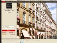 Starhotels Castille Paris Boutique Hotel Central Paris | Romantic Hotel Rue Cambon Paris