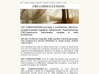 CBT CONSULTATIONS - Home