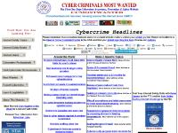 Cyber Criminals Most Wanted Website