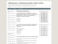 ccna-discovery-4.blogspot.com CCNA Discovery Answers, CCNA Discovery 4.0 Answers, CCNA Discovery 4.1 Answers