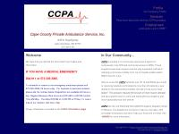 Welcome to the Internet Home of Cape County Private Ambulance Service