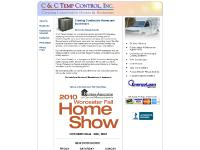 C & C Temp Control - commercial, industrial and residential Heating and Air Conditioning.