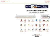 cebudirect.com Cebu Philippines online directory contact numbers telephone mobile cellphone address name p