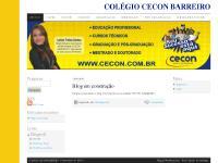 COLÉGIO CECON BARREIRO | O importante é ser feliz!!!!