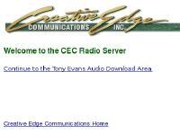 CEC Radio Server