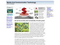 Mobile and Communication Technology